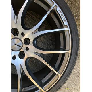 RAYS  ホムラ2×7 タイヤ付きホイール 4本(タイヤ・ホイールセット)