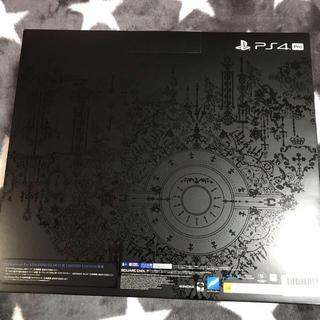 プレイステーションポータブル(PlayStation Portable)のPS4 Pro キングダムハーツ3 限定特典 新品未使用未開封 1TB(家庭用ゲーム本体)