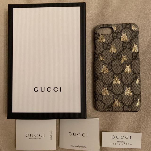 iphone6plus ケース 手帳 ヴィトン | Gucci - 正規品✨直営店購入品✨GUCCIグッチ✨iPhoneケース✨蜂✨ビーの通販 by ちー♡'s shop|グッチならラクマ