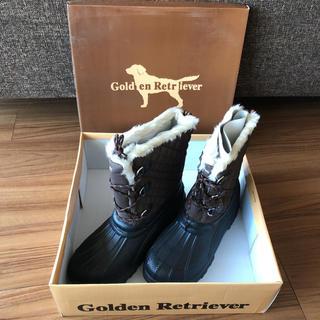ゴールデンリトリバー(Golden Retriever)の未使用 ゴールデンレトリバー 防寒ブーツ 27cm(ブーツ)