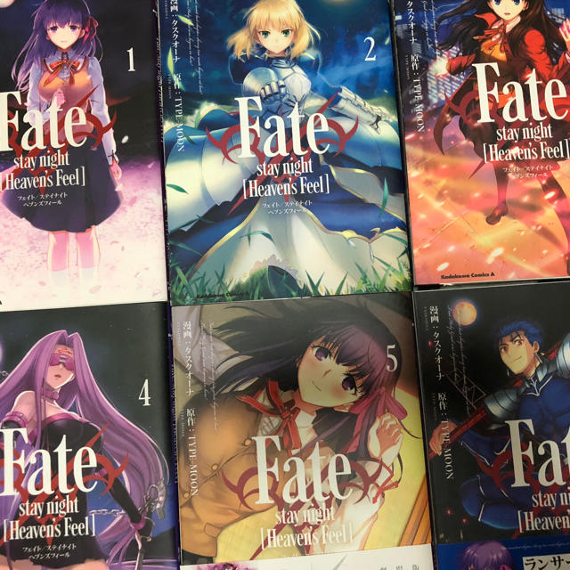Fate stay night HF 漫画1〜6巻セット エンタメ/ホビーの漫画(その他)の商品写真