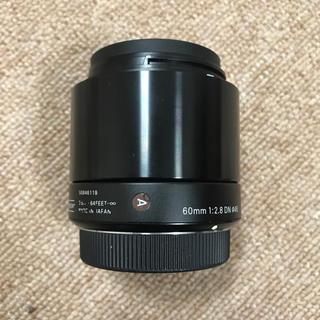 シグマ(SIGMA)のSigma 60mm 2.8 DN art マイクロフォーサーズ用(レンズ(単焦点))