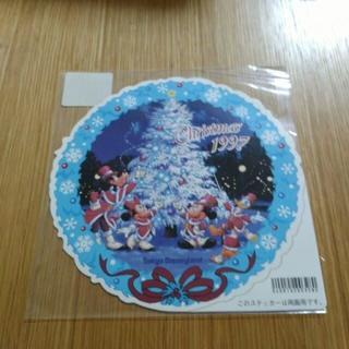 Disney - ディズニーランド 1997年 クリスマス 両面 ステッカー
