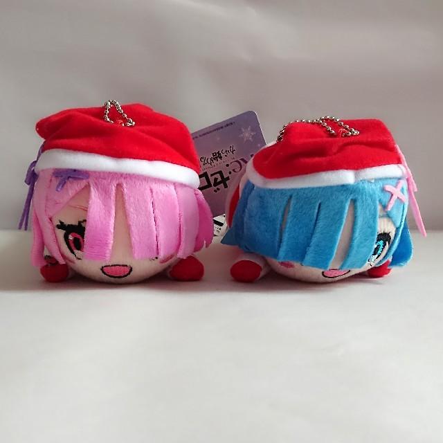リゼロ 寝そべりぬいぐるみ セット エンタメ/ホビーのおもちゃ/ぬいぐるみ(キャラクターグッズ)の商品写真