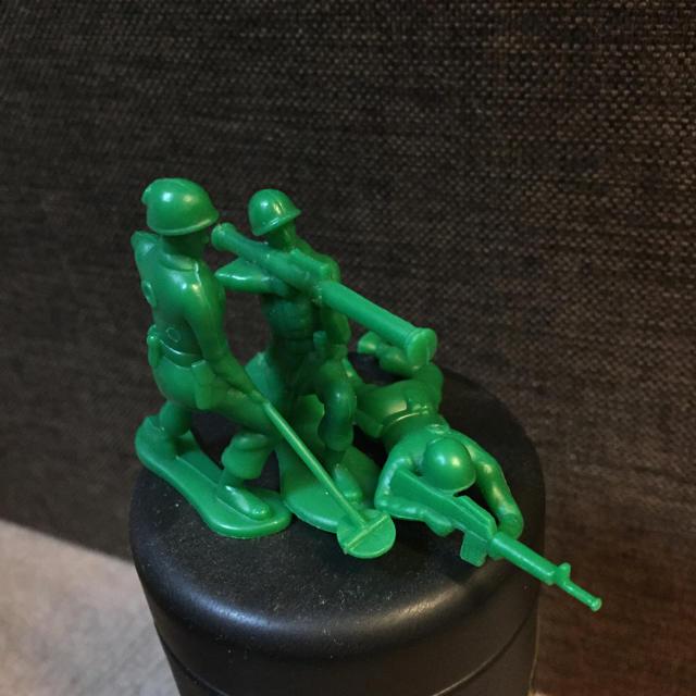 グリーンアーミー 兵隊セット エンタメ/ホビーのおもちゃ/ぬいぐるみ(キャラクターグッズ)の商品写真