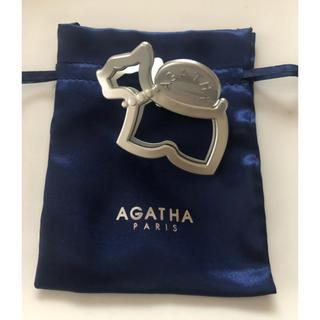 アガタ(AGATHA)のアガタパリ テリア型ヘアクリップ(バレッタ/ヘアクリップ)