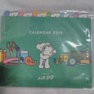 2019年卓上カレンダー 北海道の翼AIR DO 人気商品(カレンダー)
