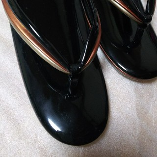 黒 草履(下駄/草履)