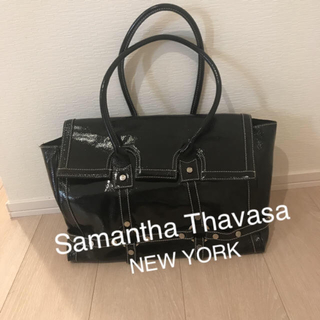 サマンサタバサニューヨーク(SAMANTHA THAVASA NEW YORK)のSamantha thavasa  new york  エナメルバッグ♡(トートバッグ)