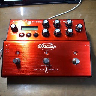 アトミック(ATOMIC)のAtomic amplifier (エフェクター)