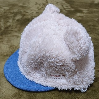 コネクト(connect)の【3月末削除】【未使用】赤ちゃん帽子 44cm(帽子)