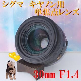 シグマ(SIGMA)の☆キヤノン用シグマ単焦点レンズ★30mm F1.4 DC HSM(レンズ(単焦点))