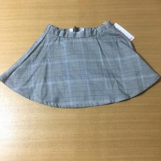 d62b59451b649 イングファースト(INGNI First)のグレンチェック柄スカート 140cm(スカート)