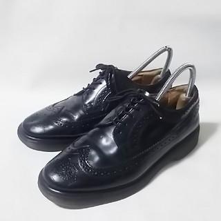 ドクターマーチン(Dr.Martens)の 王道ビンテージ!ドクターマーチン高級ウィングチップシューズ人気の黒!   (ドレス/ビジネス)