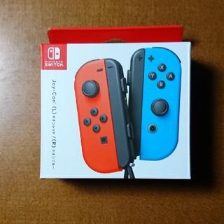 Nintendo Switch - Joy-Con(L)ネオンレッド/(R)ネオンブルー