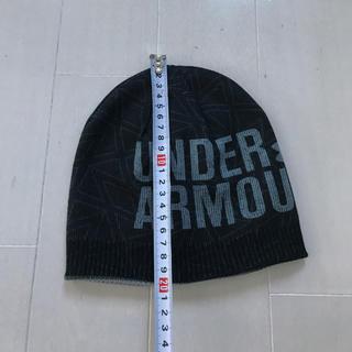 アンダーアーマー(UNDER ARMOUR)のUNDER ARMOUR ニット帽 ユース キッズ 帽子(帽子)