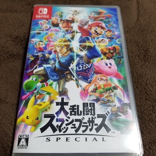 ニンテンドースイッチ(Nintendo Switch)の大乱闘スマッシュブラザーズ(家庭用ゲームソフト)