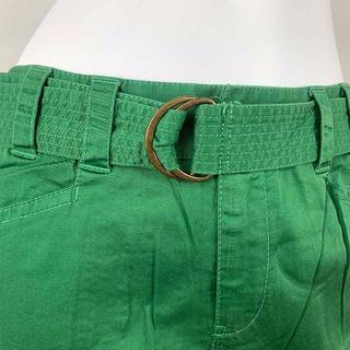 アラミス(Aramis)のARAMIS(アラミス) 鮮やかな緑 軽快なデザインの7分丈パンツ(ハーフパンツ)