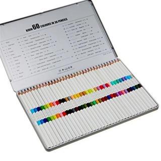 キリン(キリン)の色鉛筆 36本60色 キリン鉛筆 日本製(色鉛筆 )