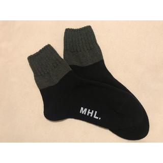 マーガレットハウエル(MARGARET HOWELL)の*MHLの靴下*(ソックス)