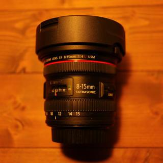 Canon EF8-15mm F4L フィッシュアイ USM