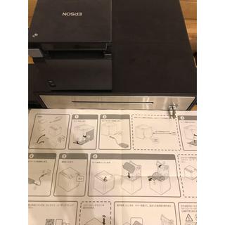 posレジ用 レシートプリンター&キャッシュドロワー&レシートロール紙 美品(店舗用品)