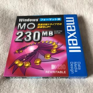 マクセル(maxell)のmaxell MO 230MB(PC周辺機器)