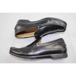 【REGAL】000823 REGAL リーガル ローファー 革靴 黒 24㎝(デッキシューズ)
