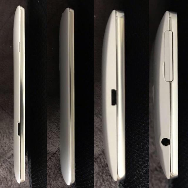 LG Electronics(エルジーエレクトロニクス)のAU LGL24 ホワイト SIMフリー 超美品 スマホ/家電/カメラのスマートフォン/携帯電話(スマートフォン本体)の商品写真