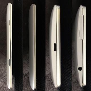 エルジーエレクトロニクス(LG Electronics)のAU LGL24 ホワイト SIMフリー 超美品(スマートフォン本体)