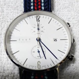 ノット(KNOT)のknot  腕時計 箱付き美品(腕時計(アナログ))