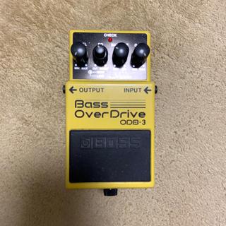 ボス(BOSS)のBass OverDrive ベース オーバードライブ(ベースエフェクター)