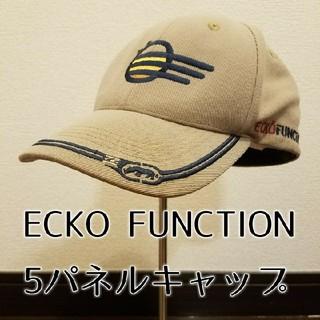 エコーアンリミテッド(ECKŌ UNLTD(ECKO UNLTD))の90's ヴィンテージ ECKO FUNCTION 5パネルキャップ(キャップ)