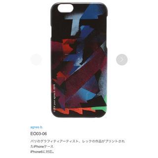 アニエスベー(agnes b.)の【agnes b.】レックアートiPhoneケース(iPhoneケース)
