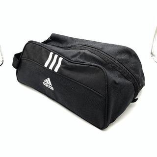 アディダス(adidas)の美品 adidas アディダス シューズ ケース 手提げ 黒  スポーツ(ポーチ)
