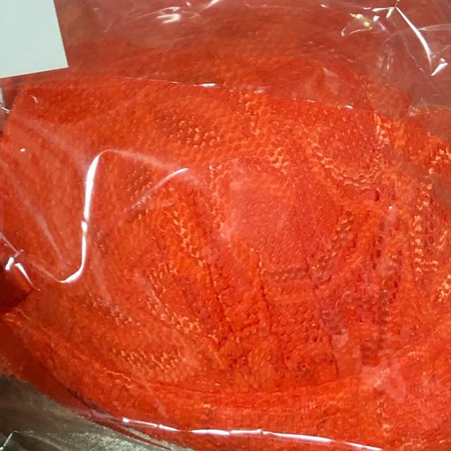オレンジ シフォン chiffon レディースの下着/アンダーウェア(ブラ&ショーツセット)の商品写真