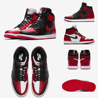 ナイキ(NIKE)のAIR JORDAN 1 HIGH OG HOMAGE TO HOME 28.5(スニーカー)