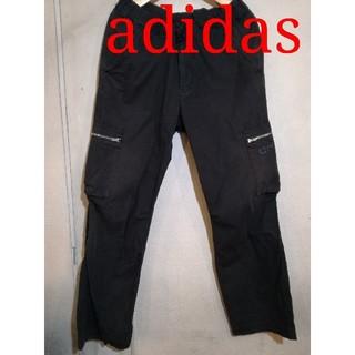 アディダス(adidas)の古着 L アディダス カーゴパンツ   アルファやアヴィレックス等好きな方にも(ワークパンツ/カーゴパンツ)