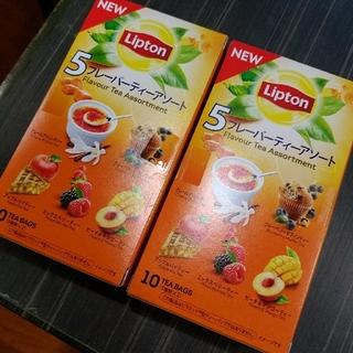 ★24日迄お値下げ!★ リプトン 5フレーバーティーアソート(茶)