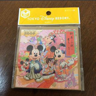 ディズニー(Disney)のディズニーリゾート☆2009お正月☆あぶらとり紙(その他)