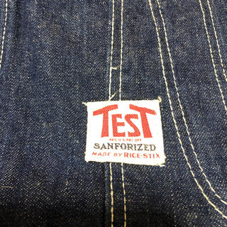 50s オリジナル TEST USA製 デニム オーバーオール ビンテージ(サロペット/オーバーオール)