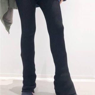 アパルトモンドゥーズィエムクラス(L'Appartement DEUXIEME CLASSE)の★Slit Leggings  新品未使用 タグあり(レギンス/スパッツ)