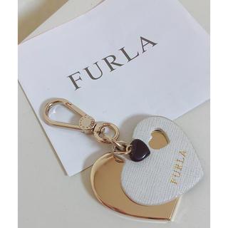 フルラ(Furla)のFURLAフルラ♥︎ハートのバッグチャーム(キーホルダー)