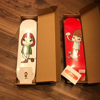 モマ(MOMA)の送料無料 奈良美智 スケートボード MoMA 正規品 室内装飾品 カナダ製(スケートボード)