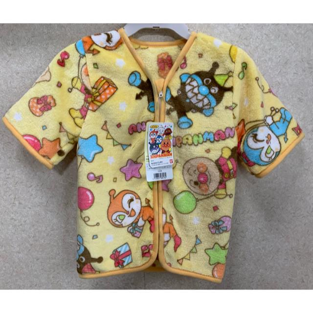 ef7806f6ecca7c アンパンマン(アンパンマン)の☆送料無料☆ 新品 アンパンマン 袖付き ミニスリーパー イエロー