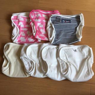 ニシキベビー(Nishiki Baby)の布オムツカバー 70 7枚(布おむつ)