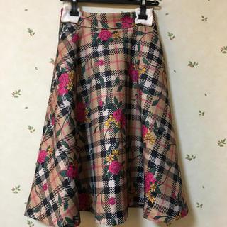 アンドクチュール(And Couture)のアンドクチュール  スカート 今期 週末だけの大幅お値下げ!(ひざ丈スカート)