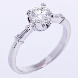 ジュエリーマキ 指輪 ダイヤ リング プラチナ 立て爪 4本  100829(リング(指輪))