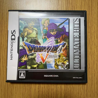 スクウェアエニックス(SQUARE ENIX)のドラゴンクエスト V DS カセット(携帯用ゲームソフト)