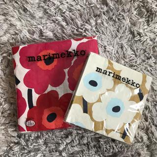 マリメッコ(marimekko)のmarimekko ペーパータオル 2個セット(日用品/生活雑貨)